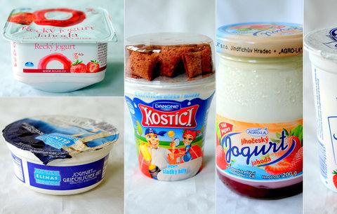 Velký mléčný test: Většina výrobků propadla, obsahovaly příliš cukru