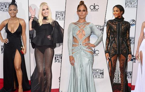 Hanbaté a odhalené American Music Awards: J Lo bez prádla, Gwen Stefani naopak jen v kalhotkách!
