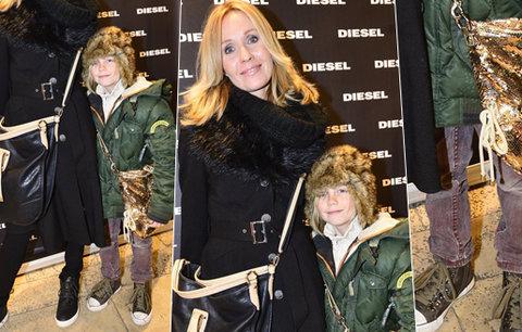 Pergnerová vyvedla vymóděnou dceru: V sedmi letech má neskutečný styl!