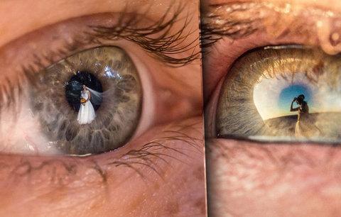 """Takové svatební fotografie jste ještě neviděli! Australan zachycuje svatební dění """"v očích hostů"""""""
