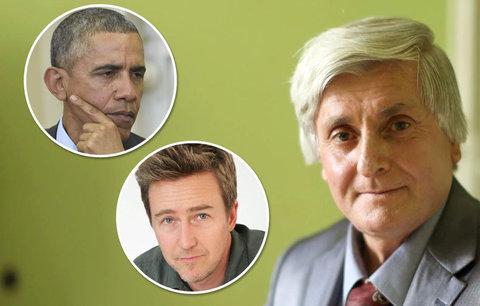 Vybombardovali mu dům, zabili manželku a teď umírá na rakovinu: Obama a Edward Norton mu chtějí pomoci