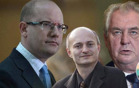 Politika 2016? Zeman zatopí vládě, volby Sobotkovi, Konvička ostrouhá
