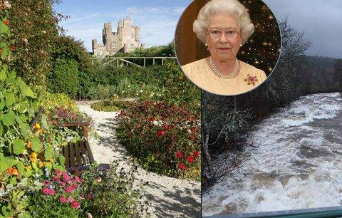 Královně Alžbětě zbyly oči pro pláč! Povodeň zničila její chloubu – honosné zámecké zahrady!