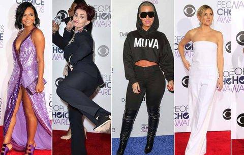 People's Choice Awards: Polonahá Milian, sněhová Hudson a drsná Sharon Osbourne