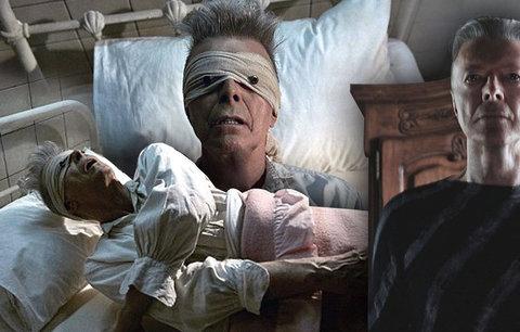 Bowie ze své smrti udělal umělecké dílo, říká producent. Podívej, jsem v nebi, vzkázal fanouškům klipem tři dny před smrtí