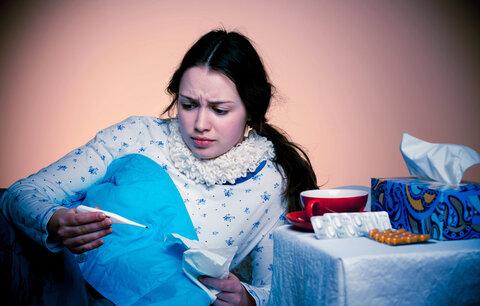 Chřipková epidemie je tu, užívejte si pravou zimu bez chřipky a nachlazení!