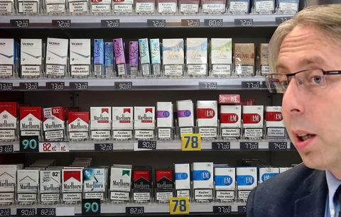 Třetině kuřáků není ani 25 let. Odborník chce omezit prodej cigaret a zdražit