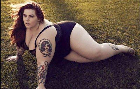 Slavná plus size modelka nadále hájí obezitu, i když je těhotná