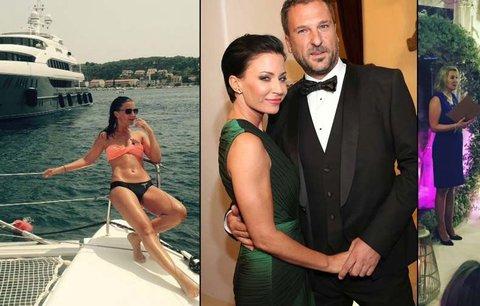 Čerstvě vdaná Partyšová: Líbánky naruby! Na jachtě v Karibiku si novomanželé užívali před svatbou