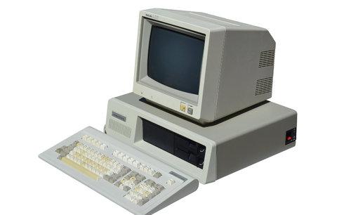 Starý počítač je žrout peněz