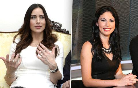 Mynářova manželka Alex se vrací do televize: Vykopli kvůli ní ženu na mateřské!