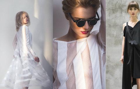 Česká móda: Sexy průhledné materiály a netradiční zpracování zlata