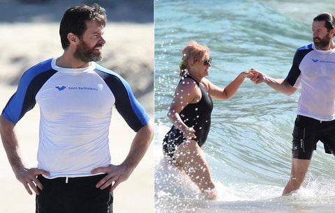 """""""Držák"""" Hugh Jackman: Je 20 let šťastný s o 13 let starší ženou!"""