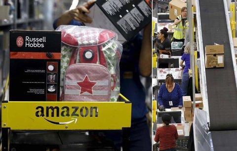 Amazon tisíce nových lidí nezaměstná. Stavba v Horních Počernicích se odkládá