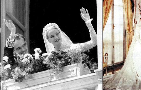 Před 60 lety se konala svatba století: Kníže Rainier III. si vzal herečku Grace Kelly