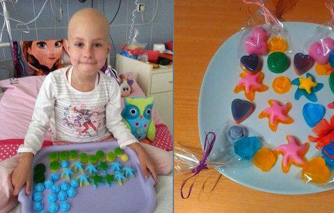 Statečná Sandra (6) bojuje s rakovinou. Rodině pomáhá prodej jejích voňavých výtvorů