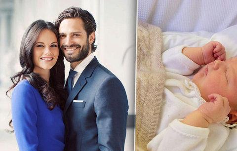 Novorozený člen švédské královské rodiny: Fotka prince Alexe obletěla svět!