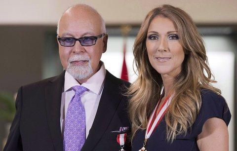Zdrcená Céline Dion (48): Zesnulému manželovi vybudovala monumentální hrobku