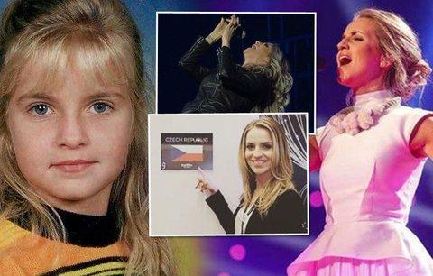 Chladná kráska Gunčíková ve finále Eurovize: Dar od táty a útěk do Ameriky!