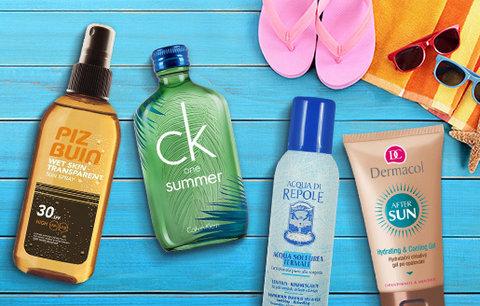 Kosmetika, bez které se na letní dovolené neobejdete