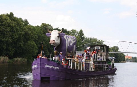 Milka loď míří do Litoměřic