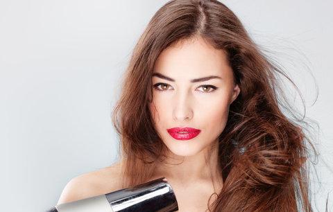 Vlasy od A do Z: Jak si správně vyfoukat vlasy a získat vytoužený objem?
