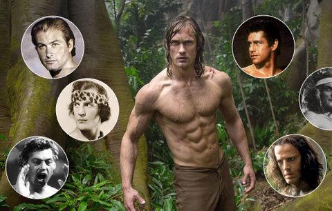 Do kin vtrhne nový Tarzan: Dámy, který se vám líbí nejvíc?