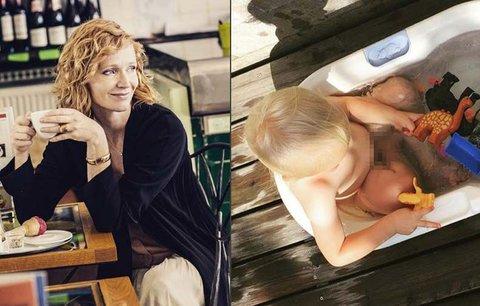 Aňa Geislerová se pochlubila nejmladším synem Maxem (3)! Po kom má blonďaté vlásky?