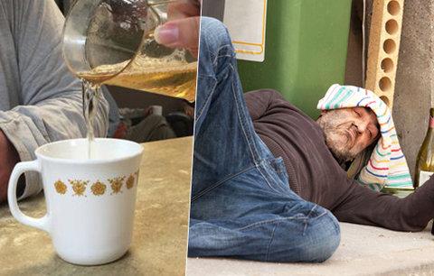 Jak vyléčit alkoholika? Vínem. Závislí jsou pak klidnější, říká lékař