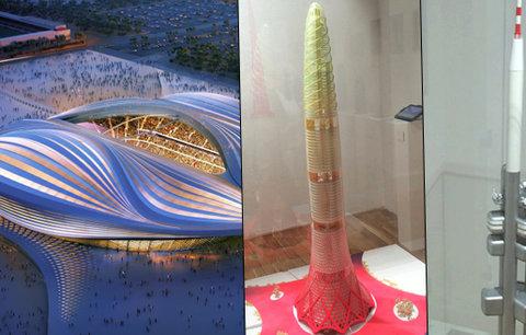 Stadion jako vagína, věže jako penisy. Výstava v Praze ukazuje propojení sexuality a architektury
