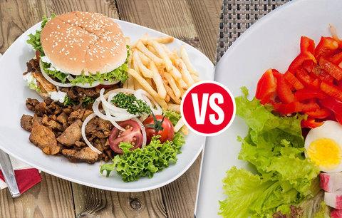 Chudí musí jíst nezdravě? Omyl, kvalitní strava peněženku nezruinuje