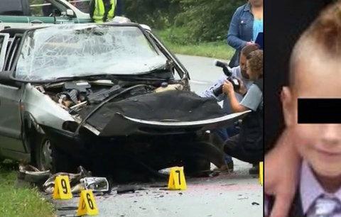 Řidič (19) zabil malého Šimonka (†9): Je to frajírek, který má rád vysokou rychlost