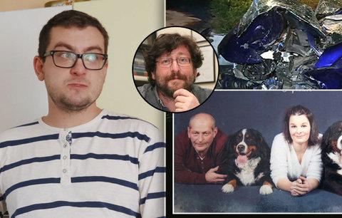 Smrtelná nehoda Weisse: Táta mamku zachránil, strhl řízení a vzal to na sebe, říká syn mrtvého