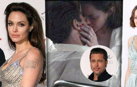 Proč Jolie odkopla Pitta? Marion Cotillard potvrdila těhotenství!