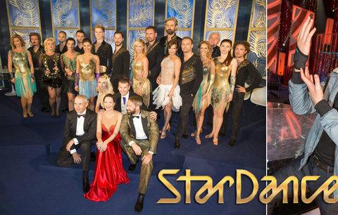 Taneční soutěž StarDance začíná v sobotu: Rojí se první pracovní úrazy
