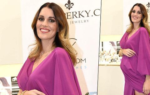 Půvabná modelka Lucie Křížková: V těhotenství vypadá přímo božsky