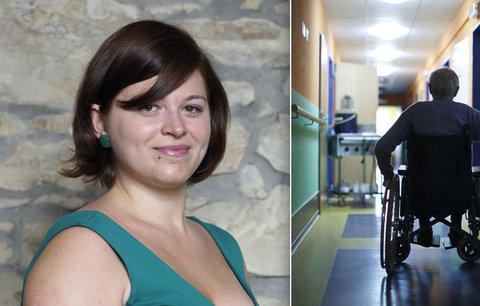 """Handicapovaná Martina (26): """"Lidé si myslí, že jsou postižení chudáci"""""""