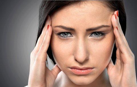 Bolí vás hlava? Zapomeňte na léky, vyzkoušejte léčbu přírodní cestou