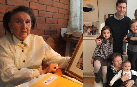 Trumpova extchyně Zelníčková odletěla do USA: Díkůvzdání oslavila s vnučkou!