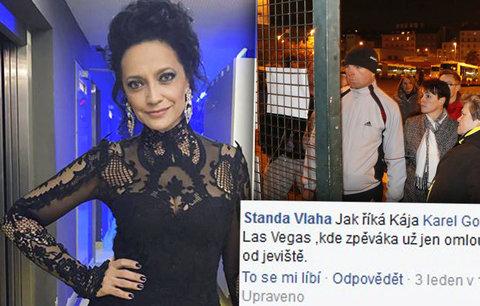 Bílá zklamala fanoušky i náhradním koncertem: Zbavují se vstupenek a láteří!