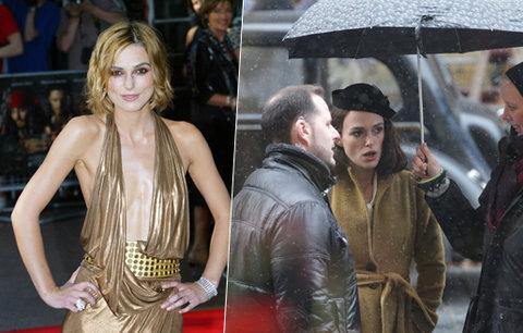 Keira Knightley v Česku: Hollywoodská hvězda natáčí v Praze film