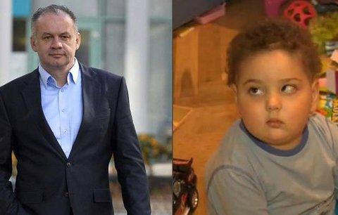Matejko (4) umírá, jeho táta sedí ve vězení: Kiska udělil zoufalému muži milost