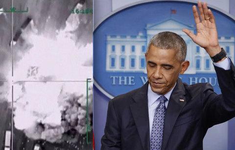 Poslední Obamův zásah: Při náletech v Sýrii zemřelo přes 100 bojovníků al-Káidy