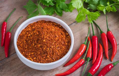 Chilli papričky jako trik na hubnutí? Pozor na žaludek!