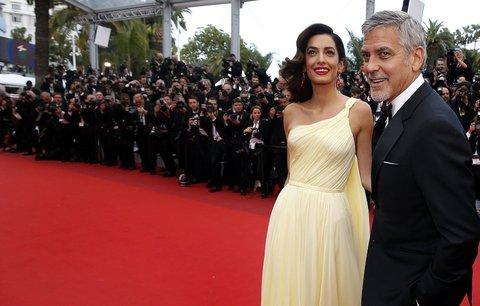 Clooney poprvé o těhotenství Amal: Přátelé si z něj pěkně vystřelili!