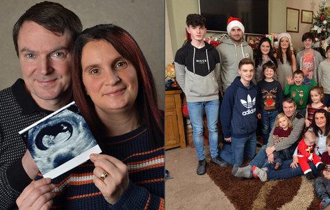 Supermáma čeká 20. dítě. Největší rodina v Británii se znovu rozroste
