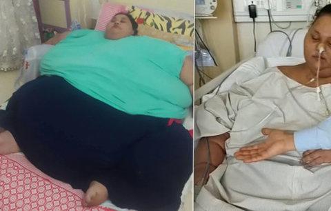 Bývalá nejtěžší žena světa (500 kg) zemřela v nemocnici: Zabila ji nadváha