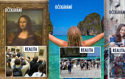 Očekávání versus krutá realita: Nejhorší překvapení, která zažijete na dovolené
