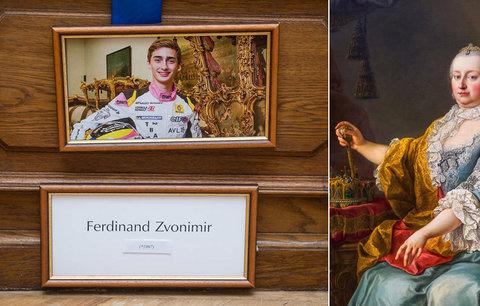 Výstava na Konopišti: Co prozradil rodokmen? Potomek Marie Terezie jezdí formulí!