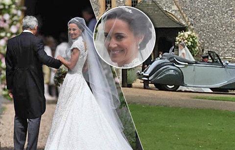 Pippa Middleton se vdala! Jak vypadal její svatební den?